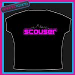 LIVERPOOL SCOUSER NEON PINK LADIES TSHIRT NEW DESIGN